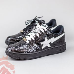 "For Real or Fake:  ""Off-White"" x Bapesta Public Release"
