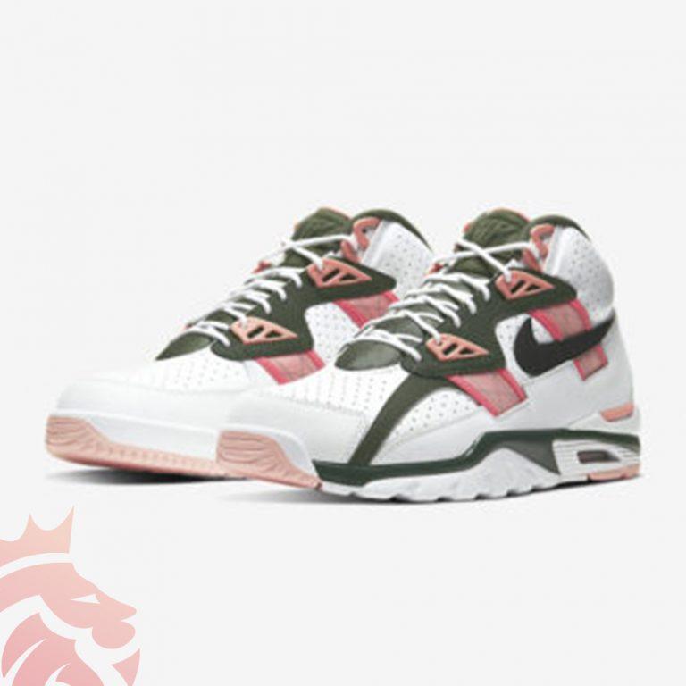 ike Air Trainer SC High Gives Us Quartz Pink & Olive Colorway