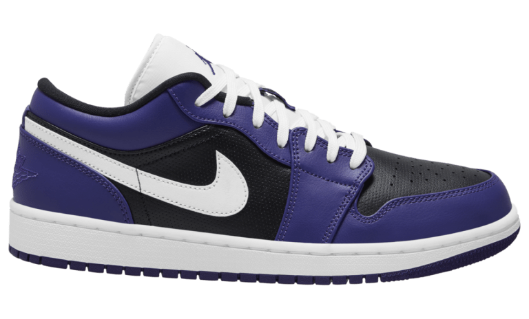 AJ1 Low Court Purple