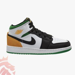 "First Look: Air Jordan 1 Mid GS ""Seattle Supersonics"""