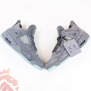 "Real Vs Fake: KAWS x Air Jordan 4 Retro ""Cool Grey"" 2017"