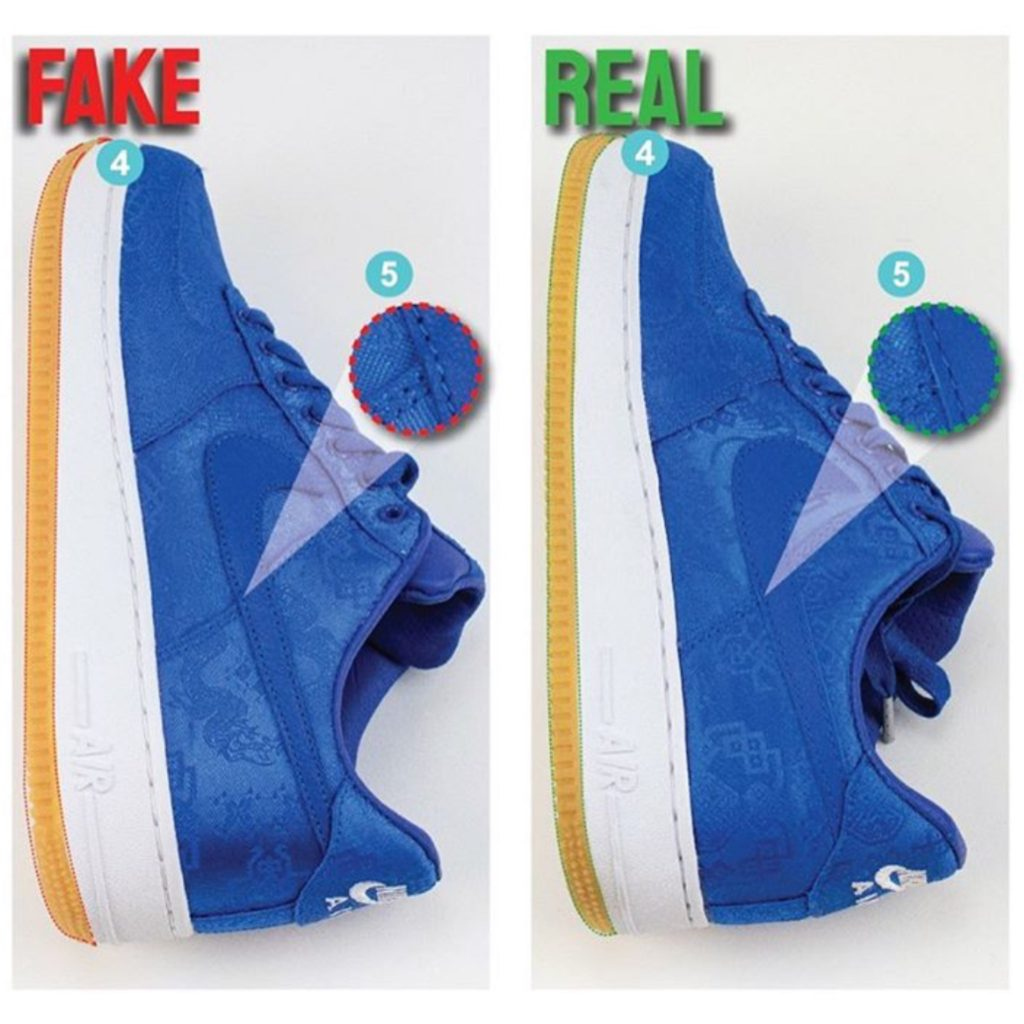 Real Vs Fake Air Force 1 Low