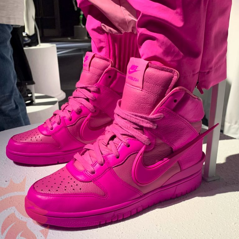 Ambush Nike Dunk High Lethal Pink