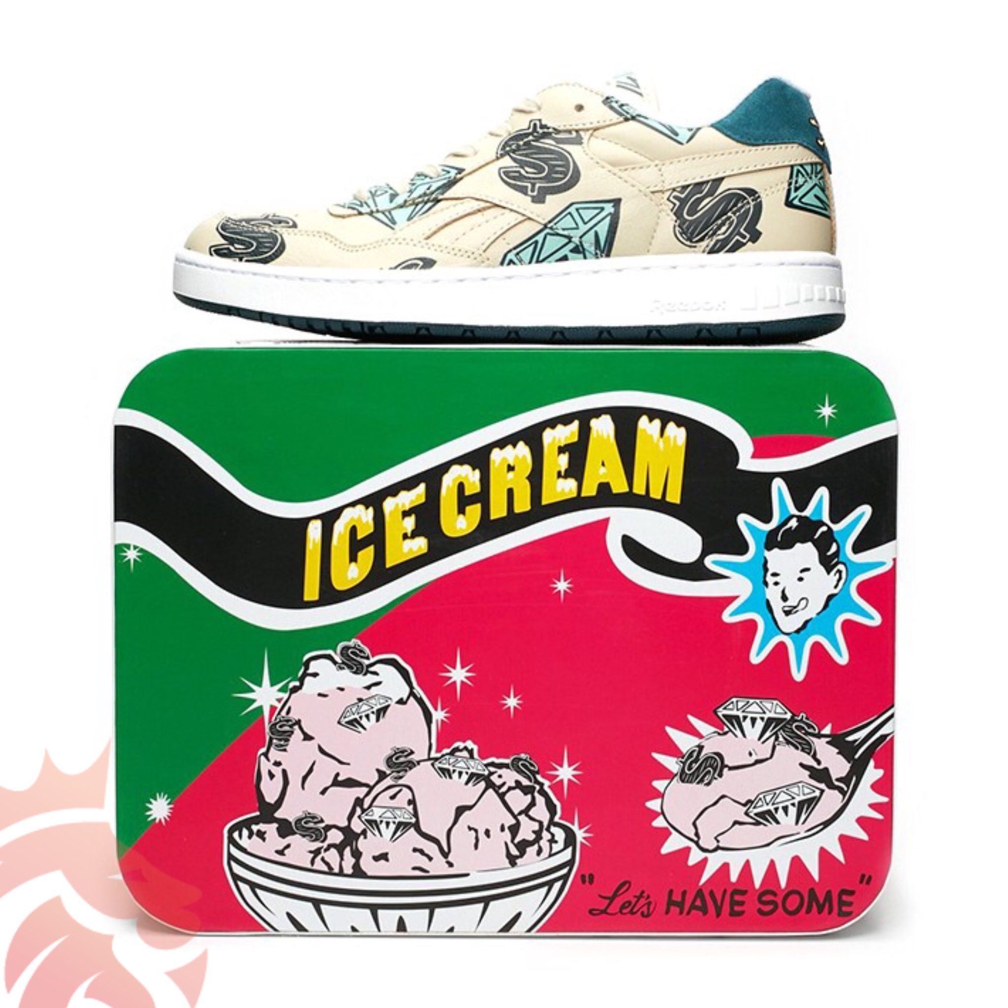 Reebok x BBC Ice Cream BB4000 'Stucco'