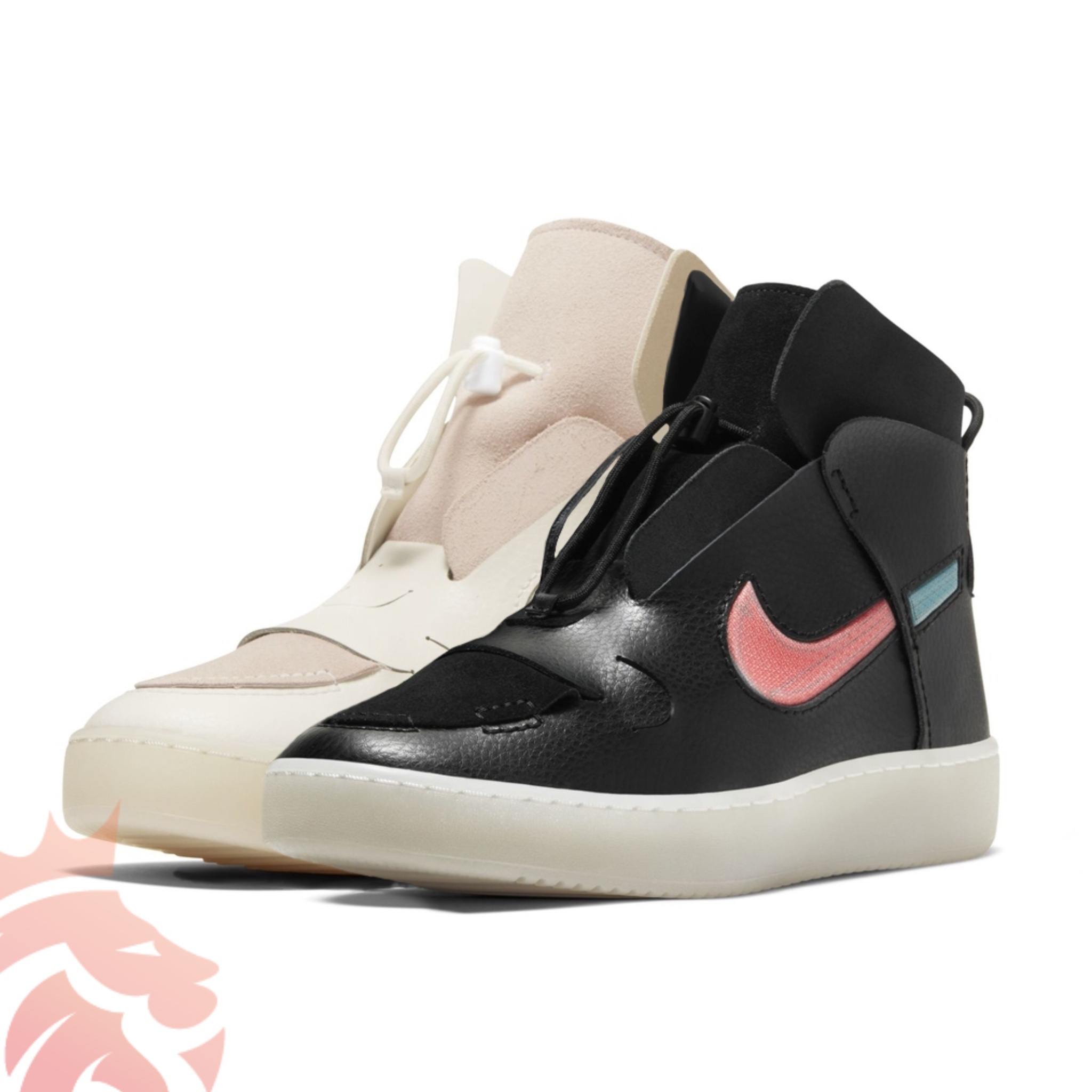 WMNS Nike Vandalized SP20 Black and Cream Colorways