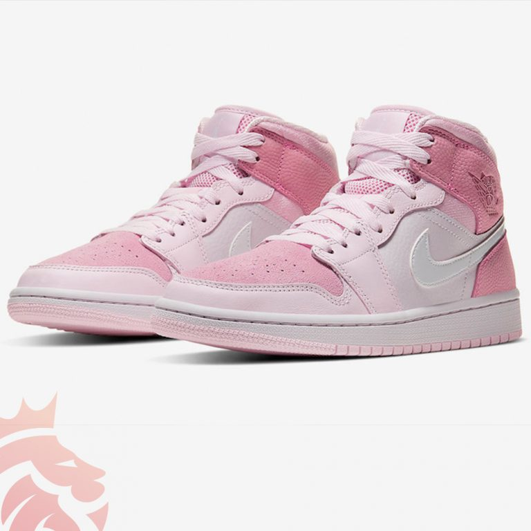 "WMNS Air Jordan 1 Mid ""Digital Pink"""