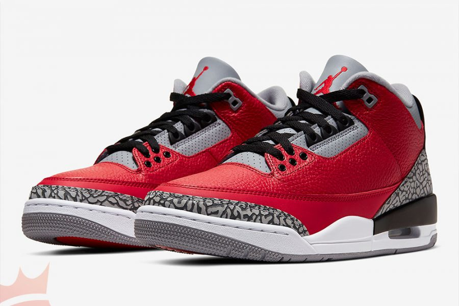 "CHICAGO-EXCLUSIVE AIR JORDAN 3 ""RED CEMENT"""