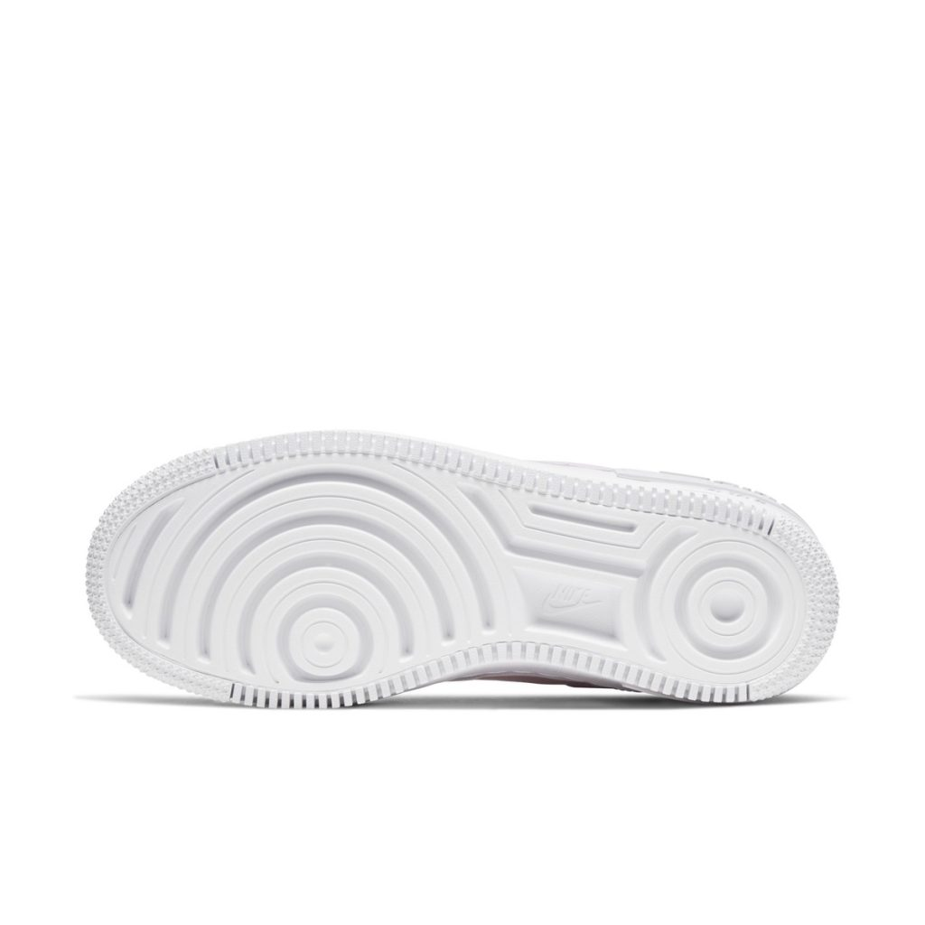 All white outsole found on the upcoming AF1 Shadow