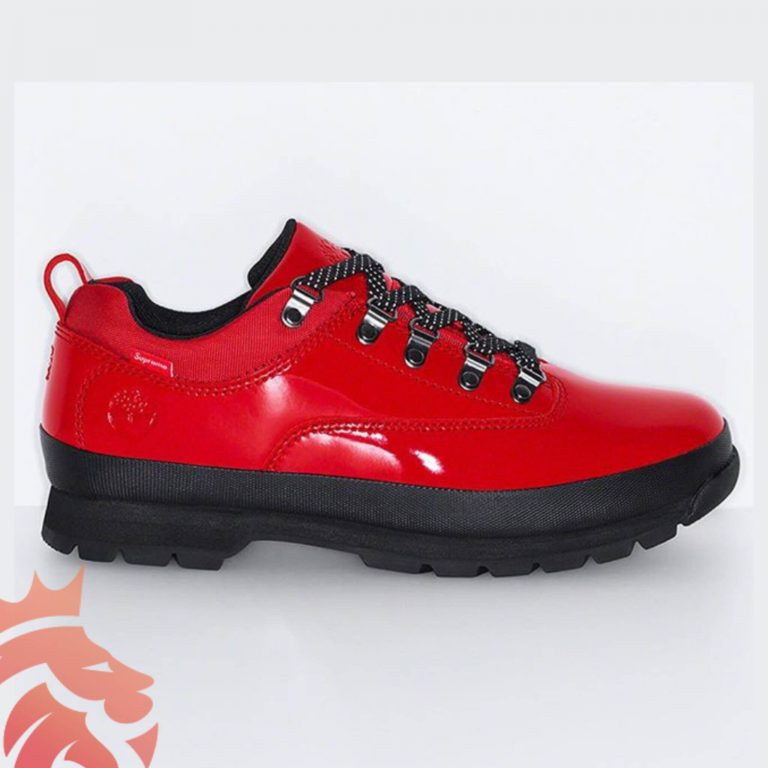Timberland x Supreme Euro Hiker Low Red