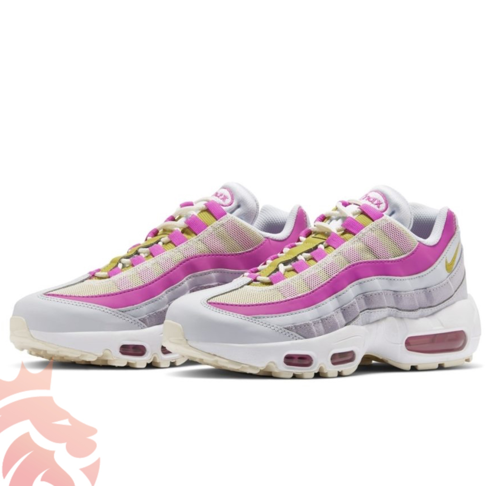 Nike Air Max 95 Highlighted in Violet-Pink