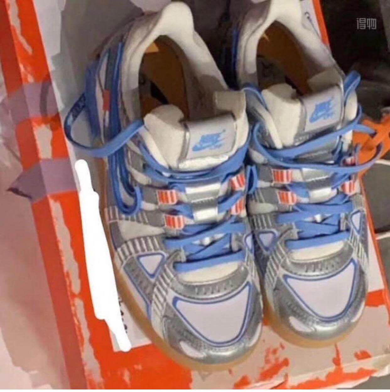 "Nike Off-White Rubber Dunk ""UNC"""