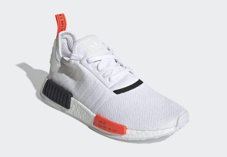 adidas Original NMD R1 White-Solar Red