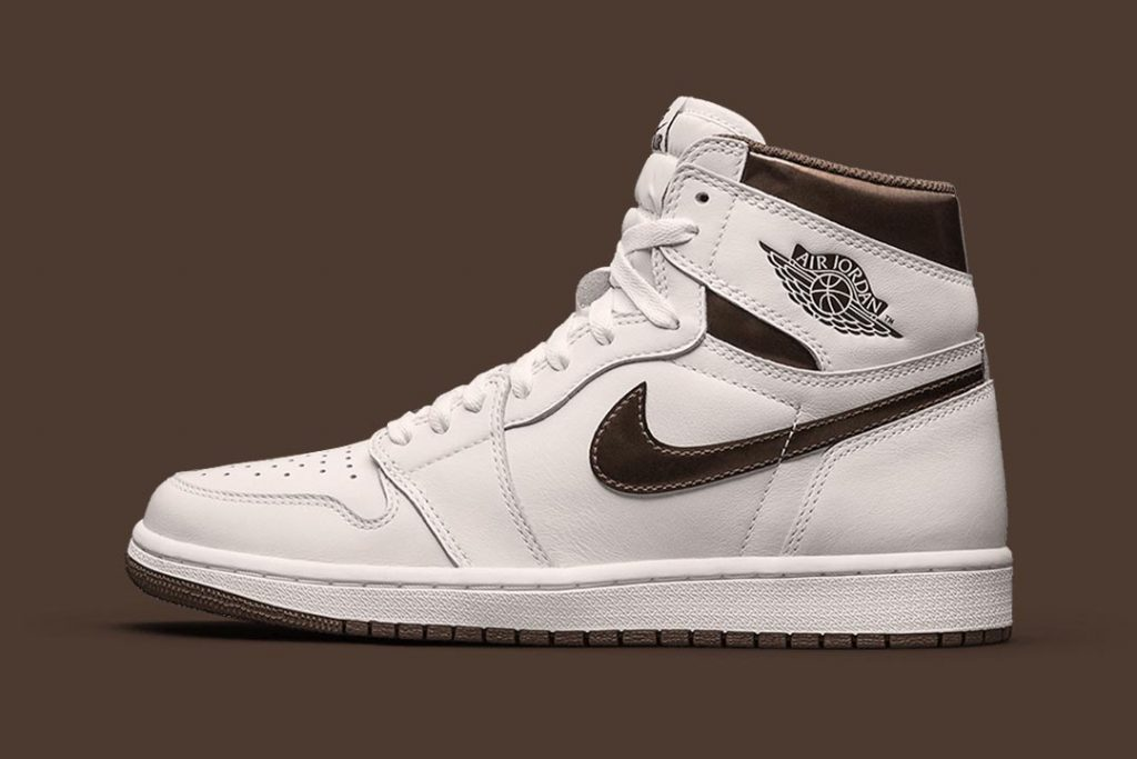 Air Jordan 1 Retro Hi OG Sail/Dark Mocha-Black