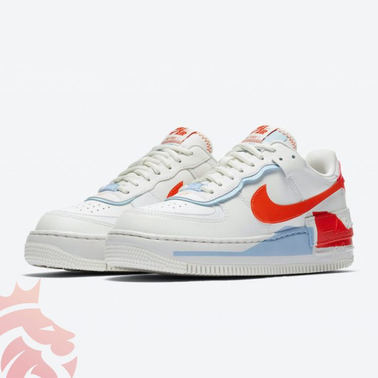 Nike Air Force 1 Shadow Orange Paint