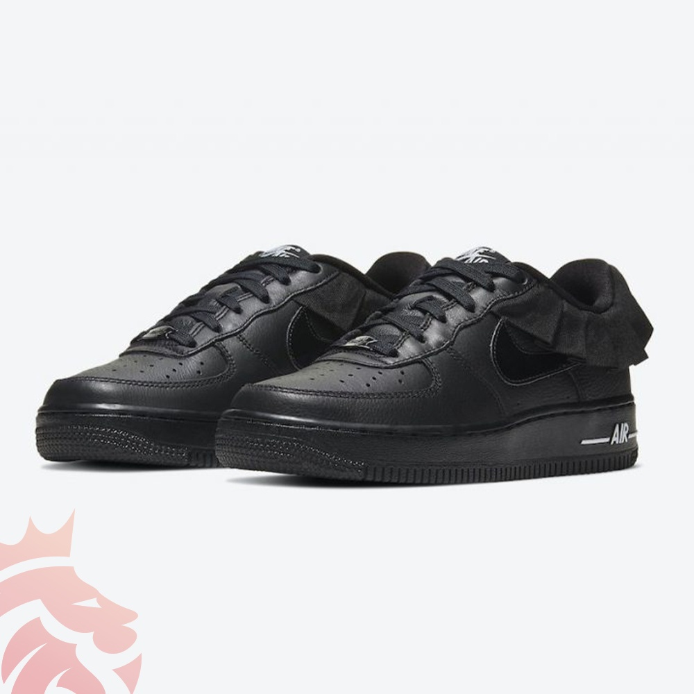 Nike Air Force 1 LV8 GS Black Ruffle