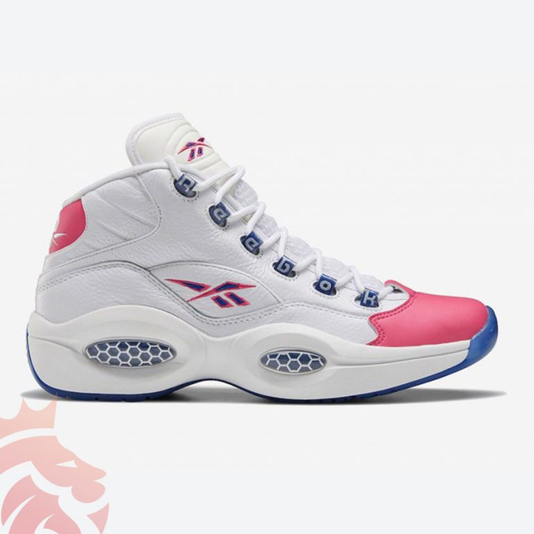 Reebok Question Mid Pink Toe