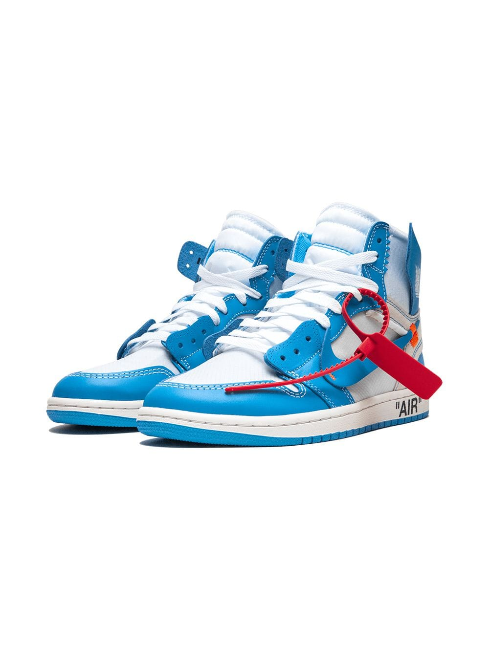 Yankeekicks Store Air Jordan 1 Retro High Off-White University Blue AQ0818-148