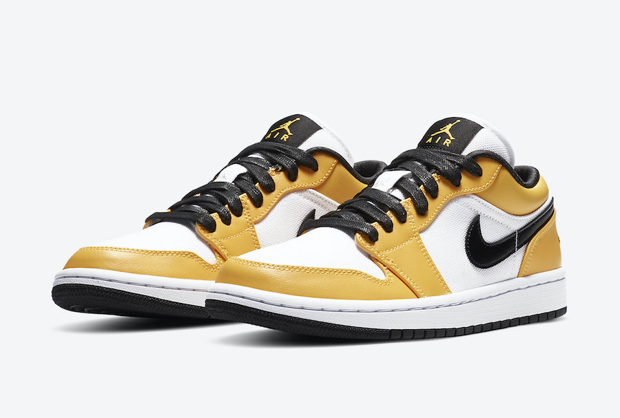 Air Jordan 1 Low Golden Yellow