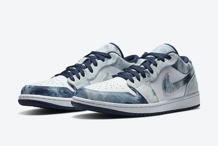 Nike Air Jordan 1 Low Washed Denim