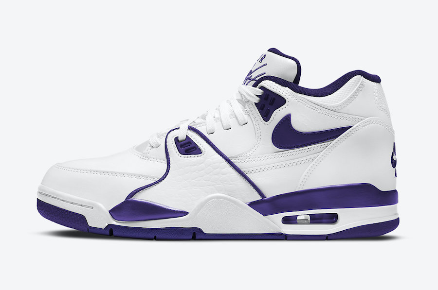 Air Flight 89 Court Purple White CN0050-101