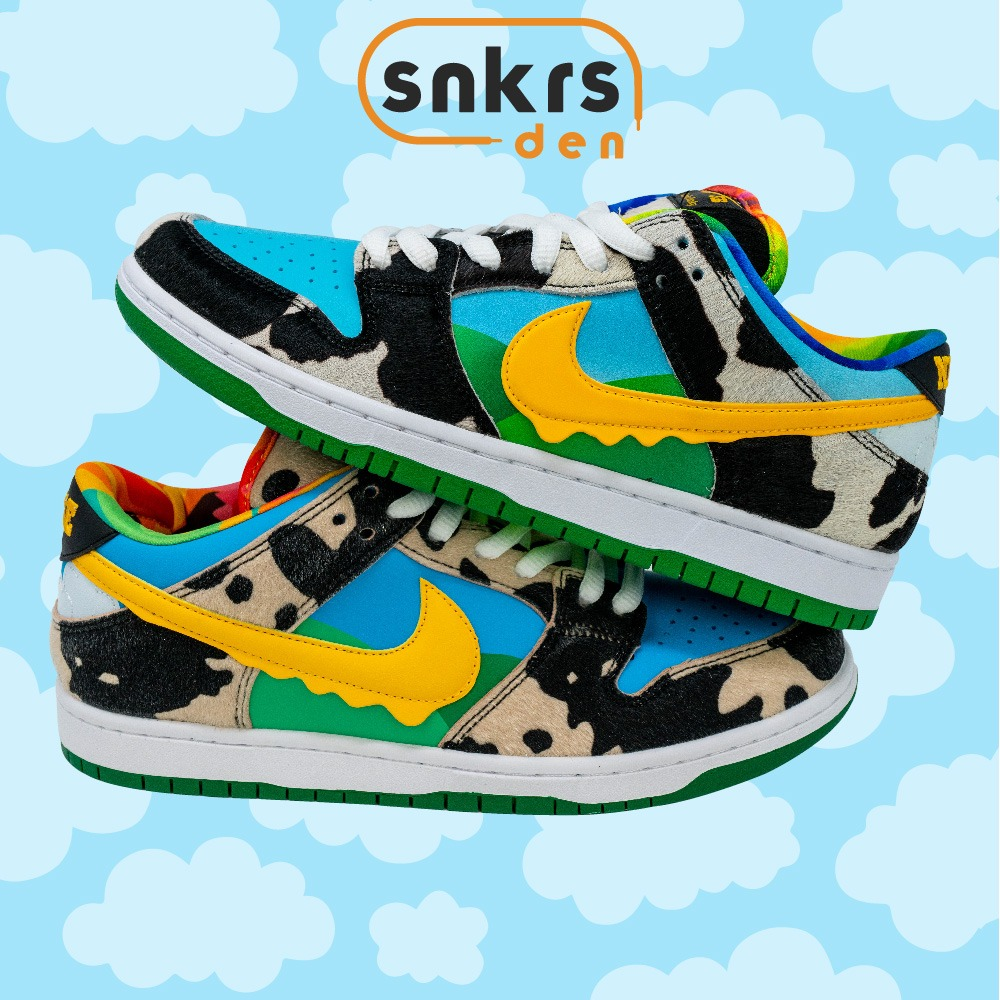 Real Vs Fake Ben & Jerry's x Nike SB Chunky Dunky