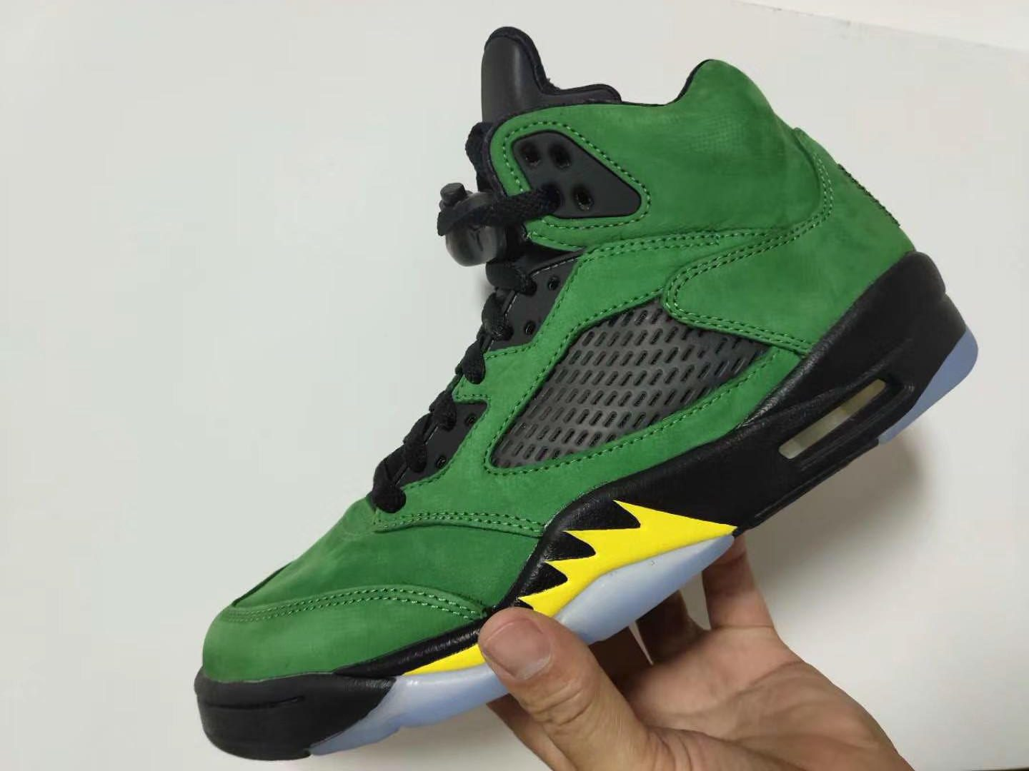 2020 Air Jordan Retro 5 SE Apple Green Colorway CK6631-307
