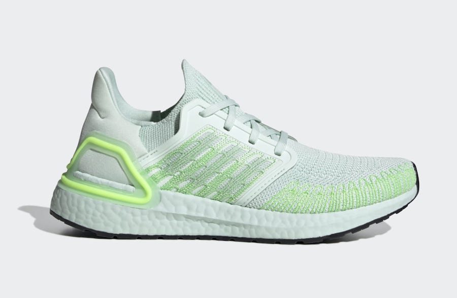 adidas Ultra Boost 2020 Green Tint
