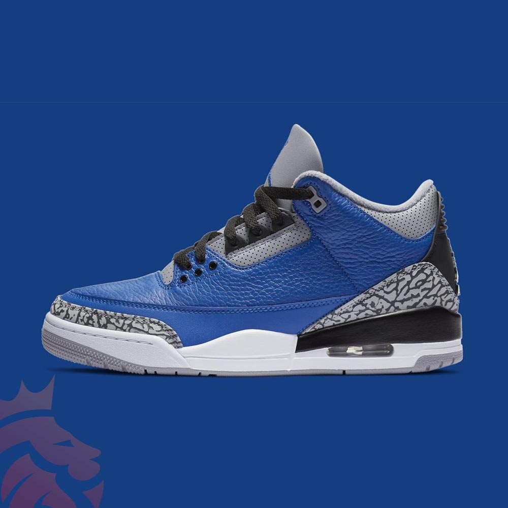 Varsity Royal Jordan 3 Yankeekicks