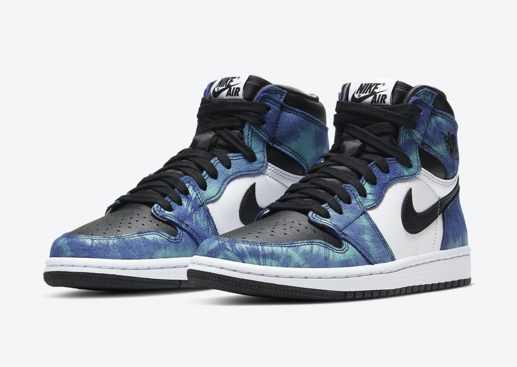 Yankeekicks Air Jordan 1 High OG WMNS Tie-Dye CD0461-100
