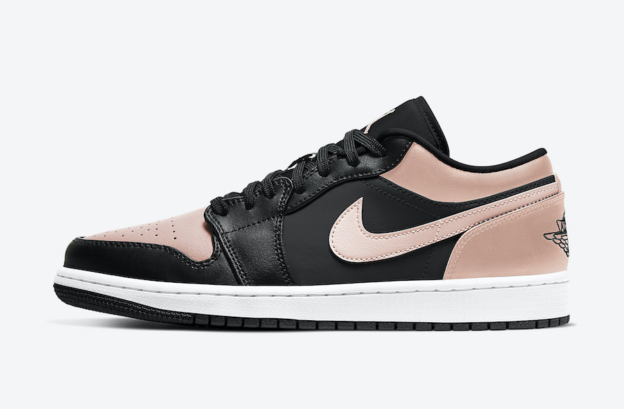 Air Jordan 1 Low Crimson Tint