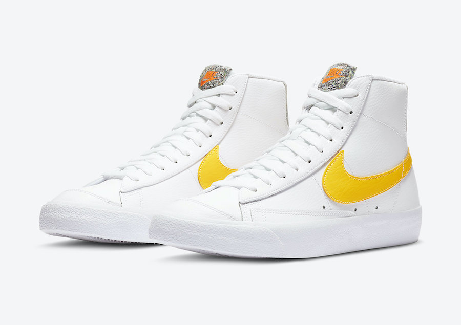 Nike Blazer Mid '77 Vintage Yellow Crater Foam