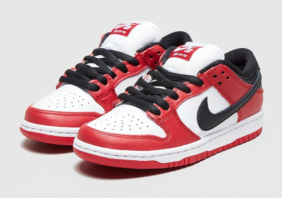 Nike Skateboarding Jordan Pack Dunk Low Chicago July 2020