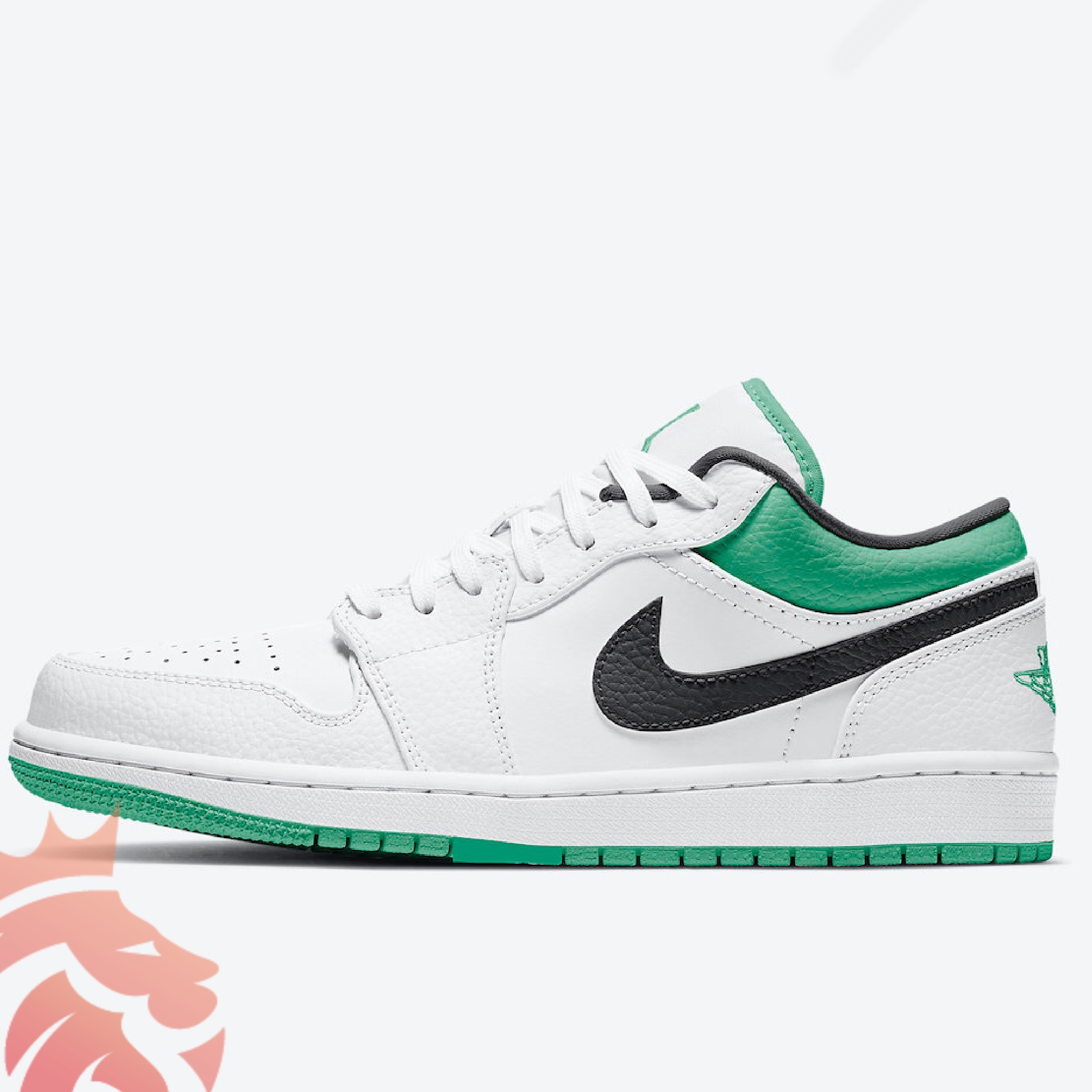 "Air Jordan 1 Low ""Boston Celtic"" Colorway"