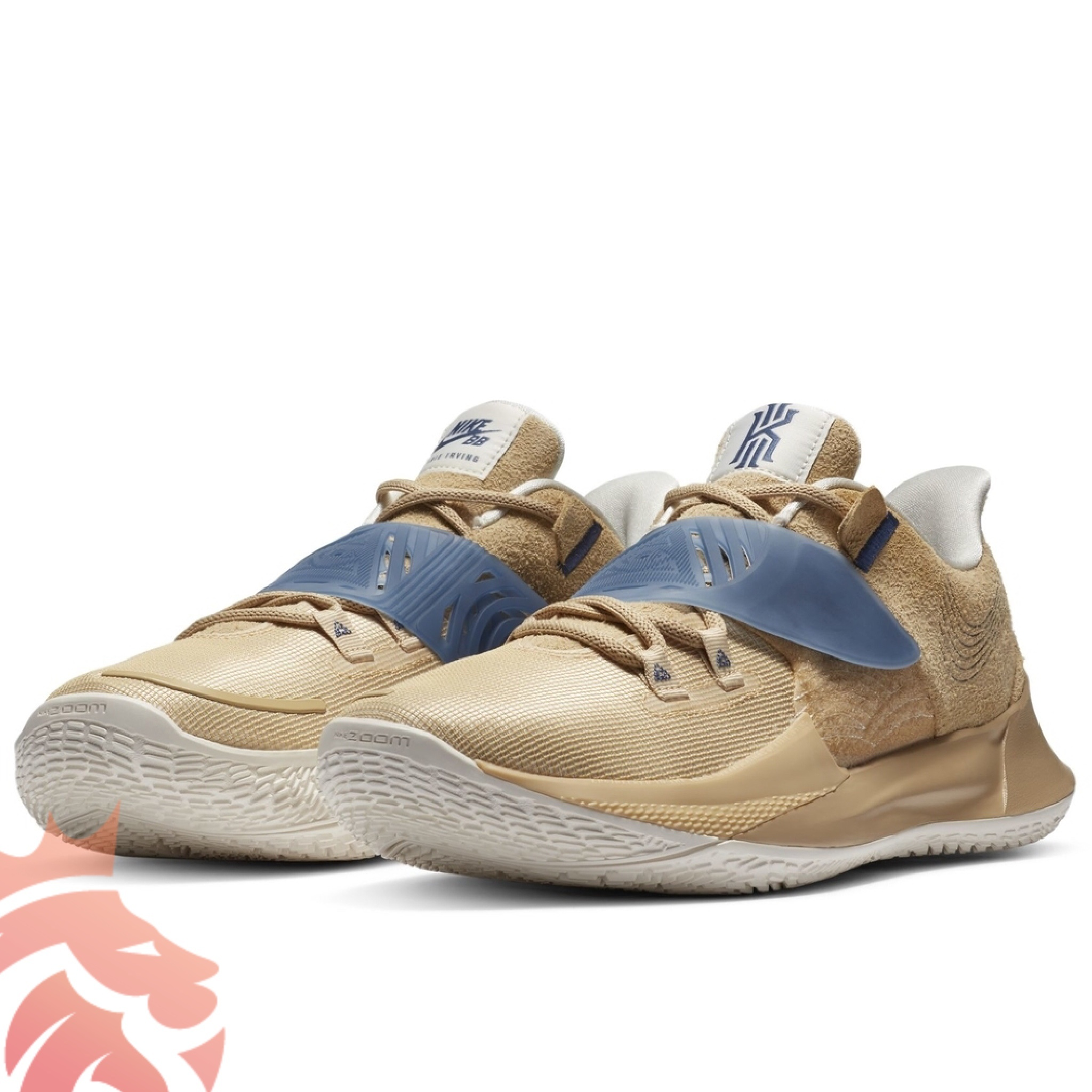 Nike Kyrie Low 3 EP CT0715-200 Sesame/Mystic Navy-Sail-Gum Light Brown