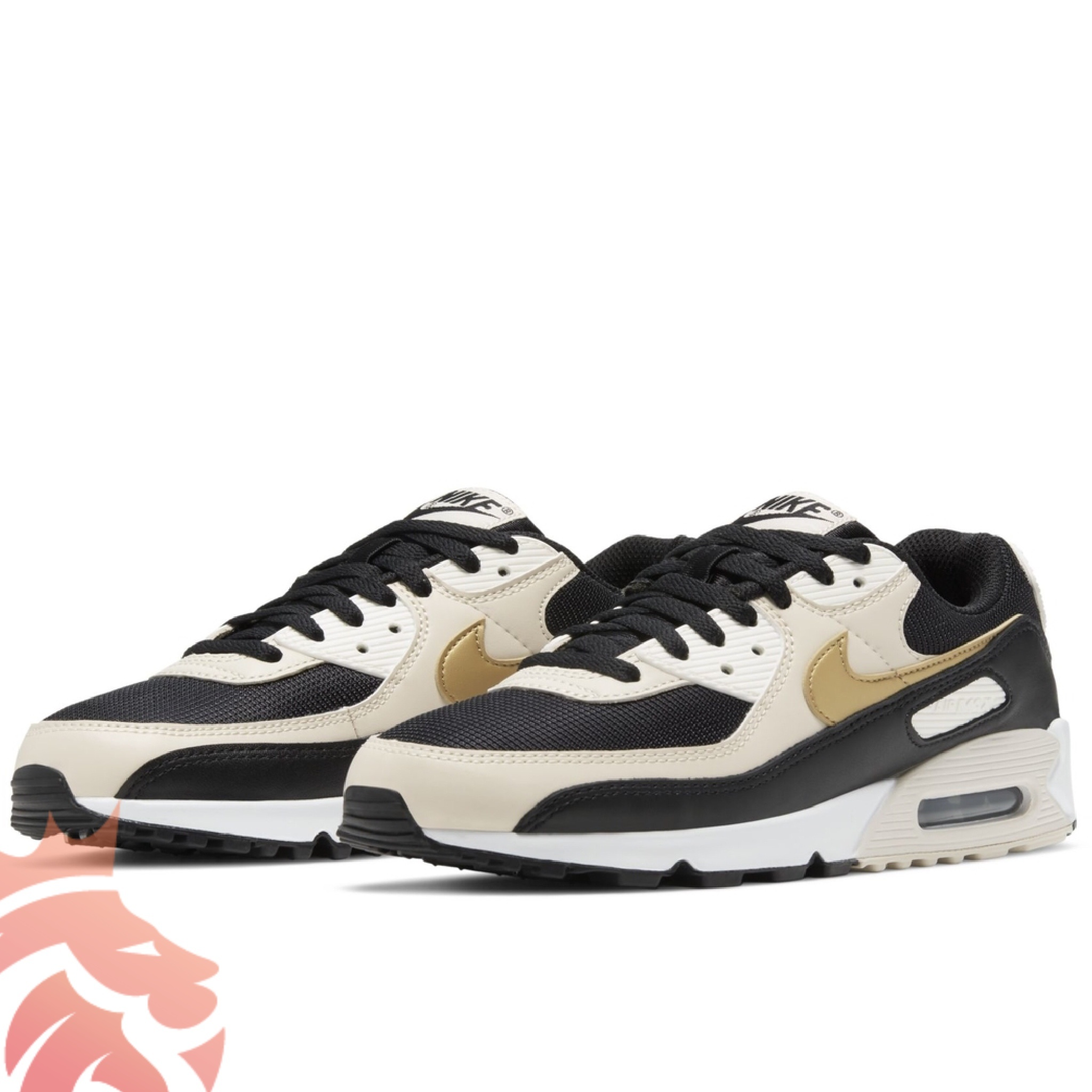 Nike Air Max 90 Black/Metallic Gold/Summit White