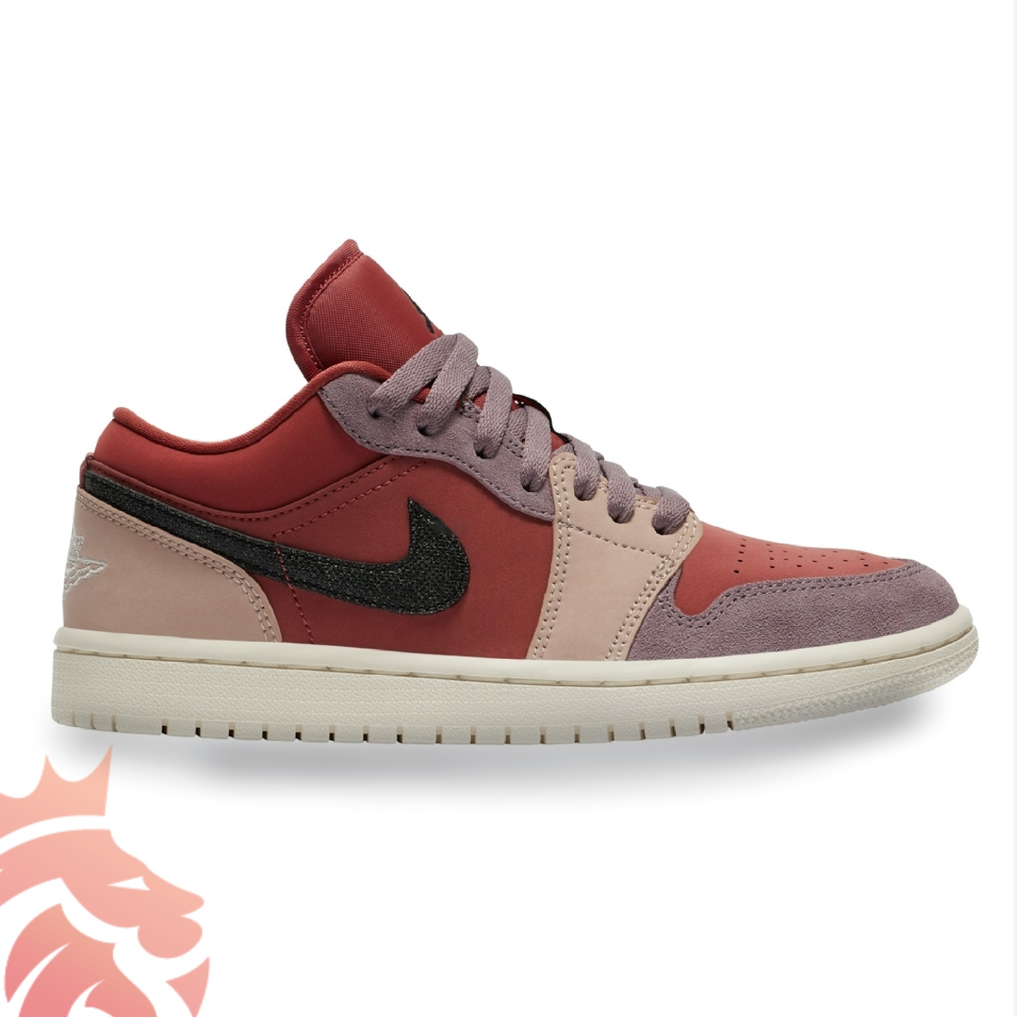 Air Jordan 1 Low Canyon Rust DC0774-602 Canyon Rust/Black/Purple Smoke