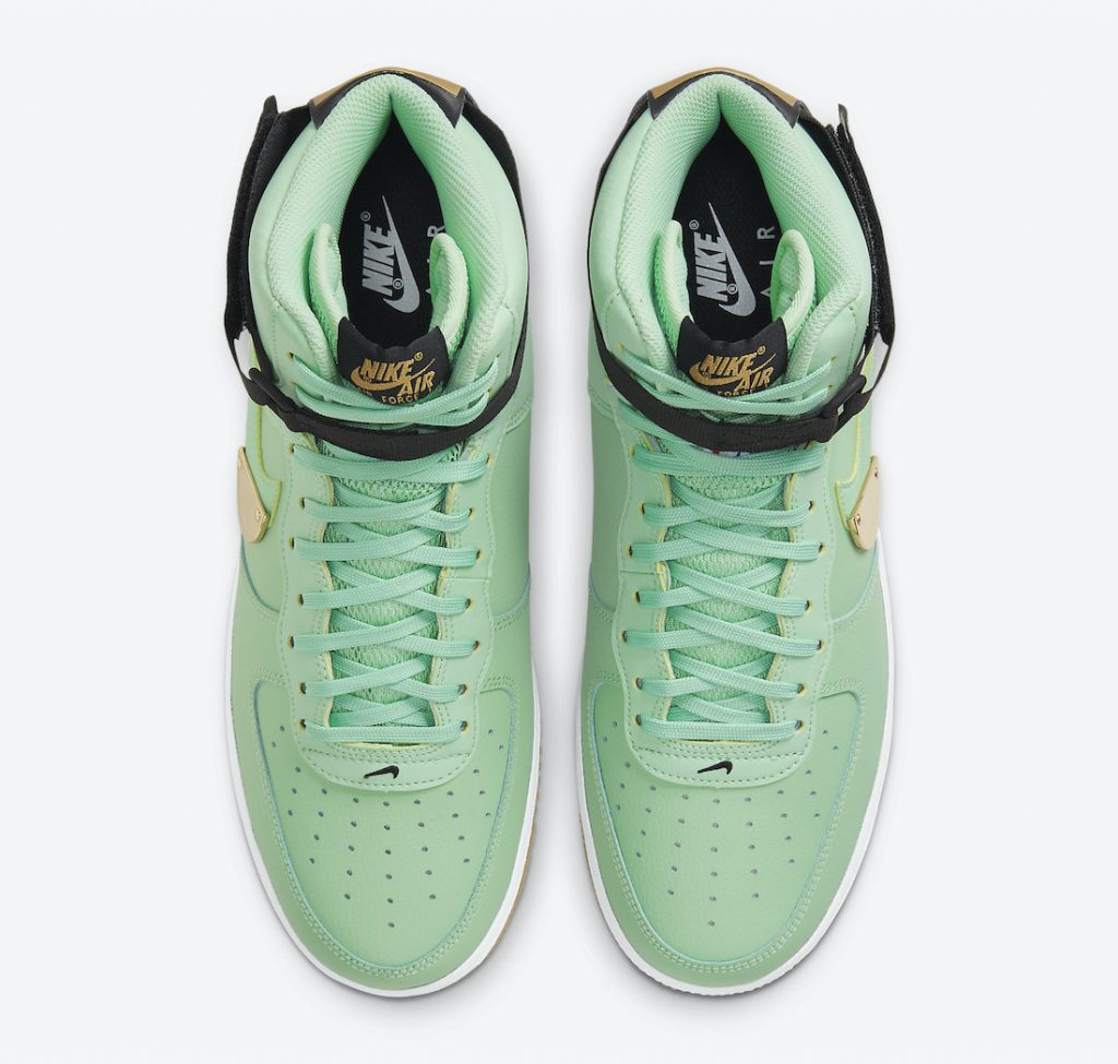 AF 1 High NBA Bright Green