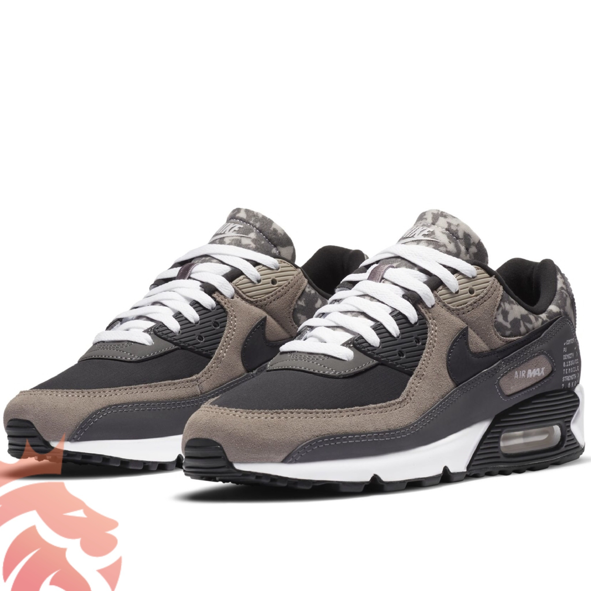 Nike Air Max 90 SE Enigma Stone/ Off Noir/ Iron Grey/White