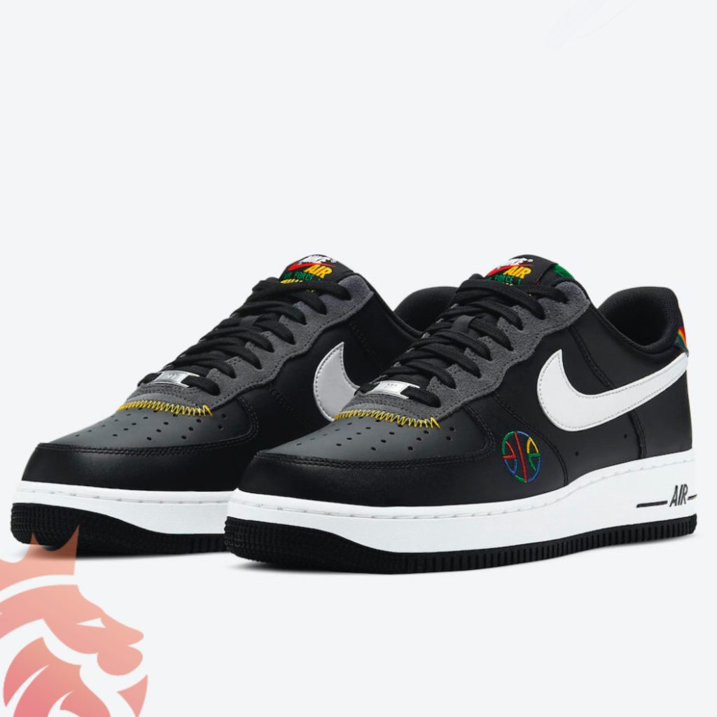 Nike Air Force 1 Live Together Play Together DC1483-001 Black/Multicolor/White