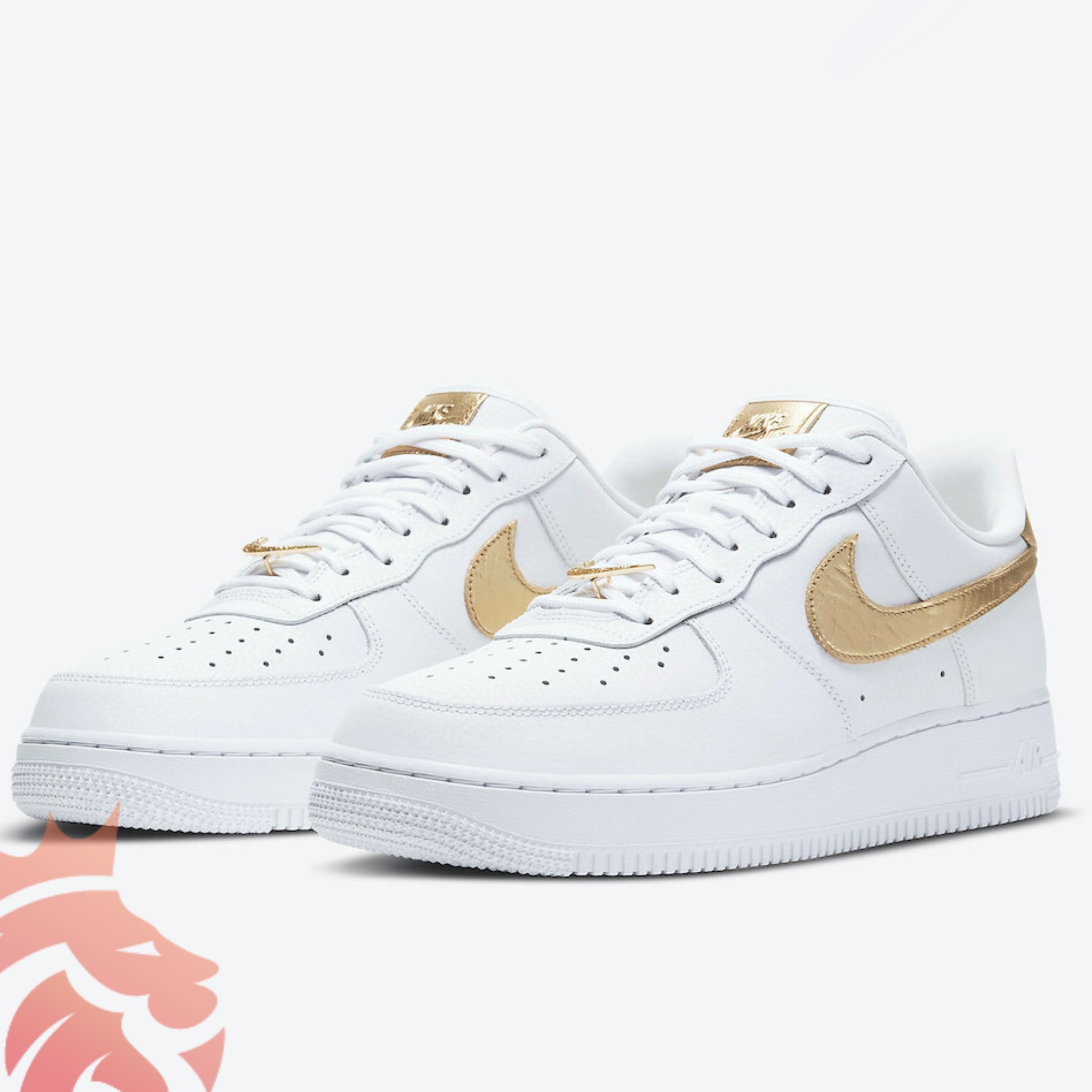 Nike Air Force 1 Low DC2181-100 White/Metallic Gold