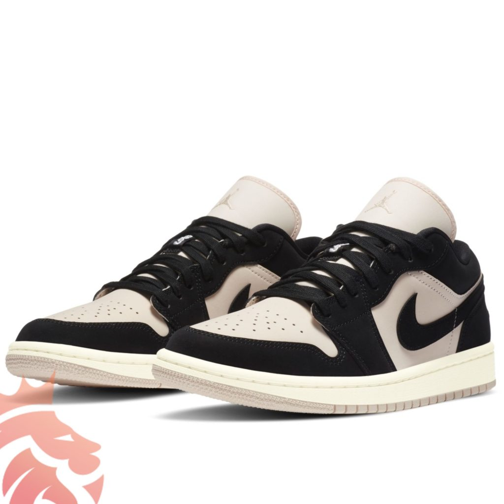 WMNS Air Jordan 1 Low DC0774-003 Black/Guava Ice/Sail