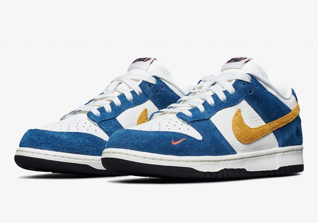 Kasina x Nike Dunk Low CZ6501-100 Sail/University Gold-Industrial Blue