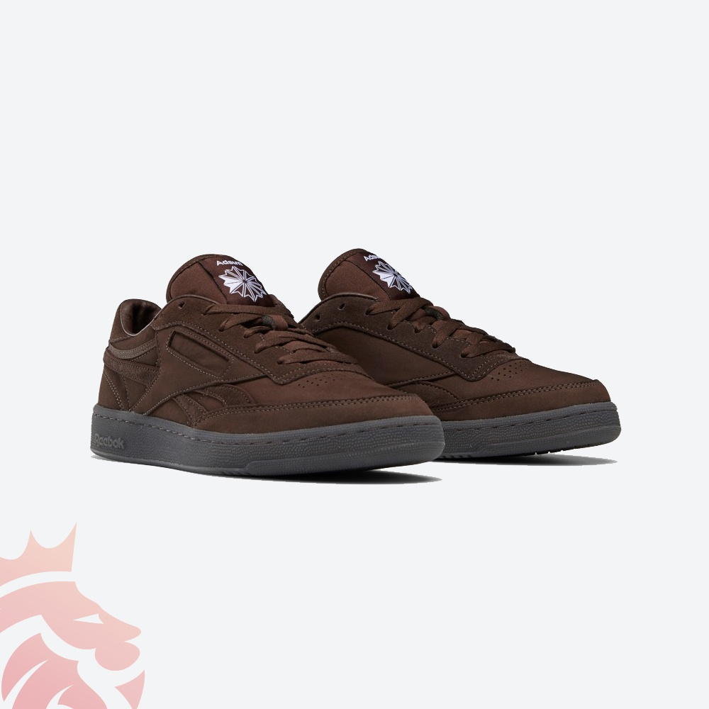 Adsum x Reebok Club C FZ1229 Brown/Chocolate Brown/Green/Black