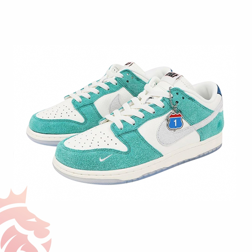 Kasina x Nike Dunk Low CZ6501-101 Sail/White/Neptune Green/Industrial Blue