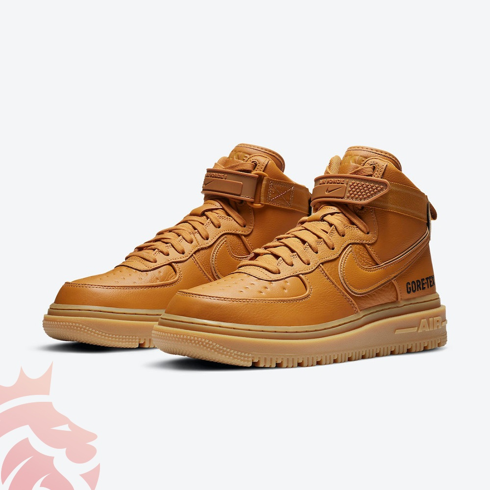 Nike Air Force 1 Gore-Tex Boot Wheat CT2815-200 Flax/Flax-Wheat-Gum Light Brown