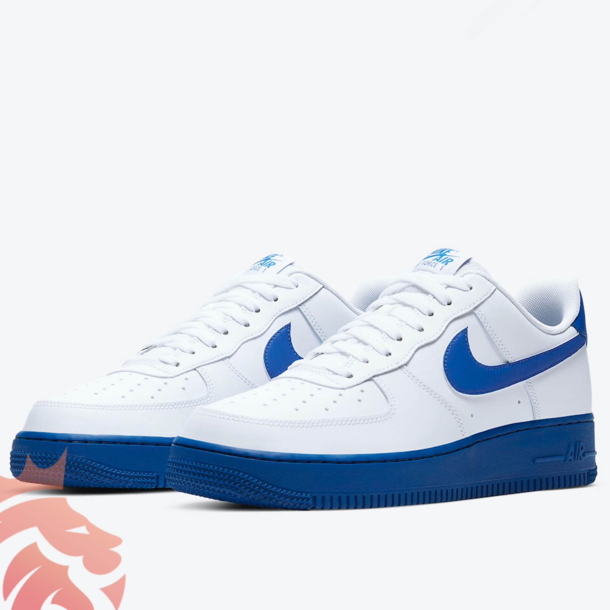 Air Force 1 Low CK7663-1013 White/Royal Blue