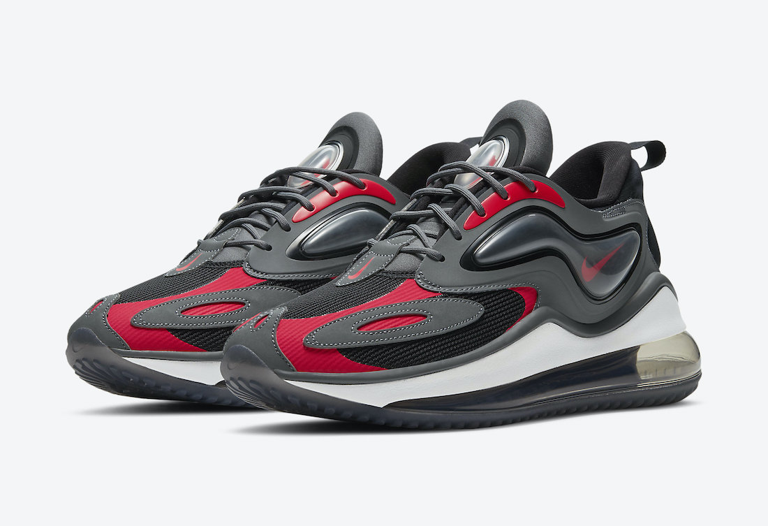 "Nike Air Max Zephyr ""Grey and Red"""