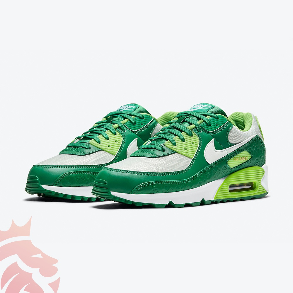 Nike Air Max 90 St. Patrick's Day DD8555-300 Lucky Green/Lime/White/Gold