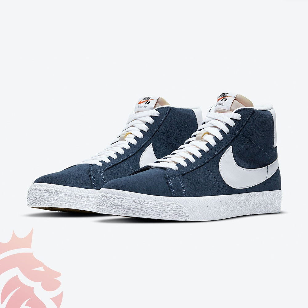 Nike SB Blazer Mid 864349-401 Baltic Blue/Black-White