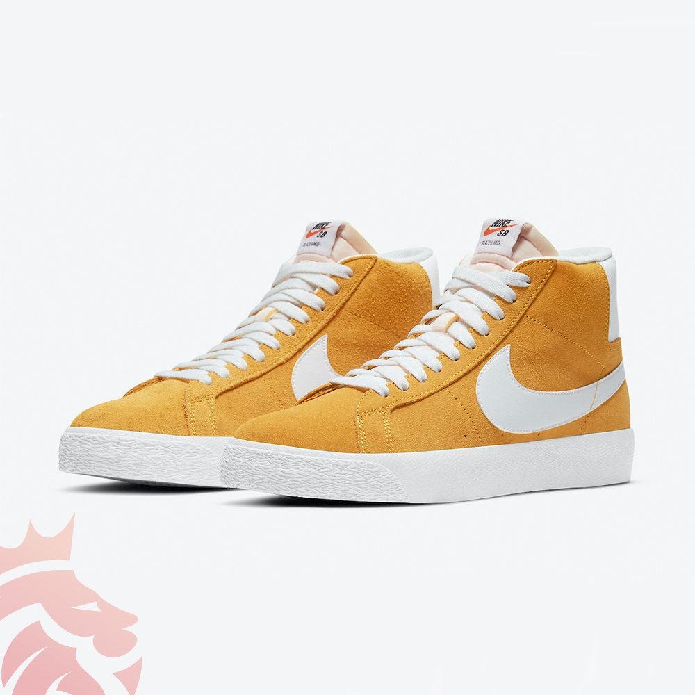 Nike SB Blazer Mid 864349-700 University Gold/Black/White